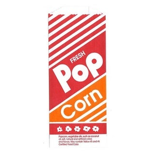 Gold Medal Products 2053 Popcorn Bags, 1 Oz.