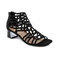 Andrew Geller Hillary Women's Sandals Black