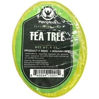 Piping Rock Tea Tree Oil Glycerine Soap, 5 oz (142 g) Bar(s)