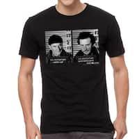 Home Alone US Penitentiary Men's Black T-shirt