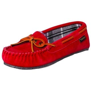 Old Friend Slippers Womens Kelly Moccasin Cotton Plaid Rubber 340156|https://ak1.ostkcdn.com/images/products/is/images/direct/45cf61511bcae21b1e3fdcd5bd11fe127126ba73/Old-Friend-Slippers-Womens-Kelly-Moccasin-Sheepskin-Rubber-340156.jpg?impolicy=medium