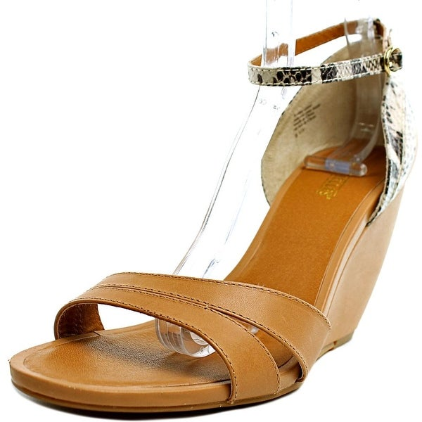Seychelles Page Luggage/Python Leather Sandals