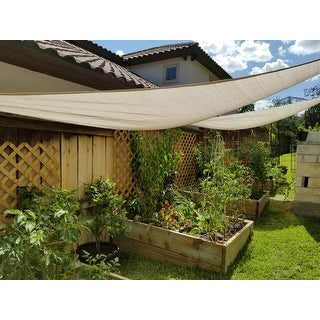 Triangle Shade Sail   Free Shipping On Orders Over $45   Overstock.com    14397916