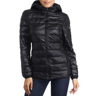 Link to Alpine Swiss Eva Womens Down Alternative Puffer Jacket Similar Items in Women's Outerwear