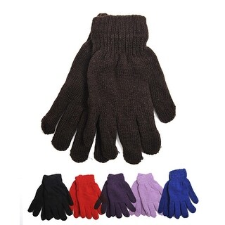 New Women's Magical Solid Stretch Gloves