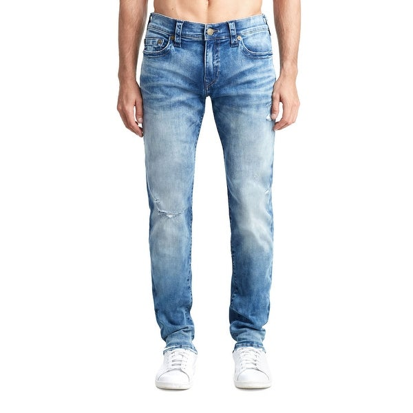 659fae904 Shop True Religion Rocco Skinny Jean in Blue Riot - Free Shipping Today -  Overstock - 26436417