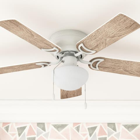 Copper Grove Sulby 42-inch White LED Ceiling Fan