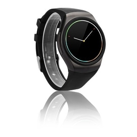 Indigi® A18 SmartWatch & Phone - Bluetooth 4.0 Sync + Pedometer + Accurate Heart Rate Sensor + Notification Sync