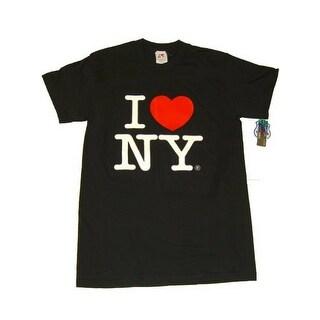 I Love NY T-Shirt - Size: Adult X-Large - Color: Black