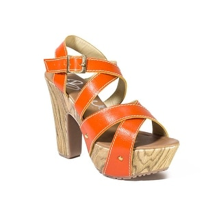 Womens Shoes Paola Wedge High Heel Sandal