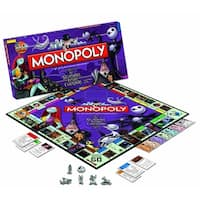 Nightmare Before Christmas Collectors Edition Monopoly Boardgame - multi