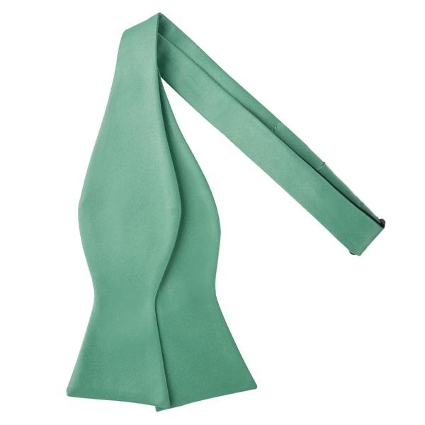 Jacob Alexander Men/'s Self Tie Freestyle Solid Color Bowtie