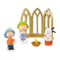 "Department 56 Peanuts ""Nativity Set"" 5-Piece Christmas Figurine Set #4044956 - multi"
