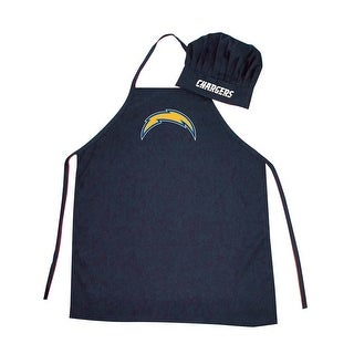 NFL San Diego Chargers Apron and Chef Hat