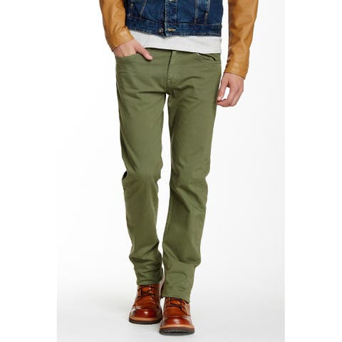 Joe's Jeans Brixton Straight Narrow, Olive, 33
