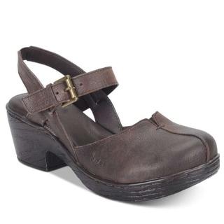 Born Womens Barbuda Crocodile Closed Toe Casual Slingback Sandals