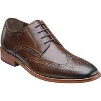 Florsheim Men's Castellano Wing Tip Brown Smooth Leather