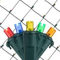Wintergreen Lighting 72514 100 Bulb 4Ft x 6 Ft LED Decorative Holiday Net Light