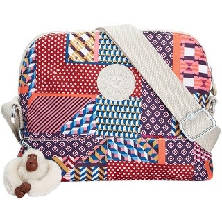 Kipling Womens Bess Crossbody Handbag Printed Adjustable - MEDIUM