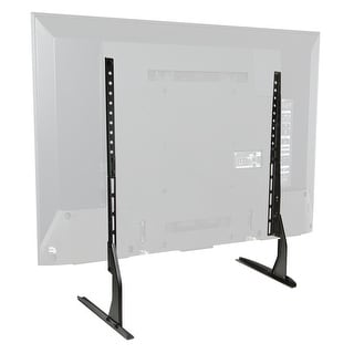 Modern Tabletop TV Stand - Universal Flat Screen Base Replacement