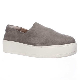 STEVEN by Steve Madden Hilda Slip On Fashion Sneakers, Grey