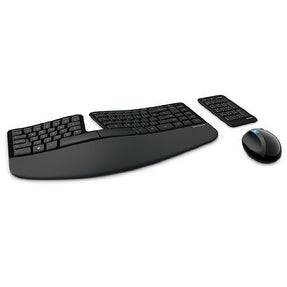Microsoft L5V00001B Sculpt Ergonomic Desktop Keyboard & Mouse