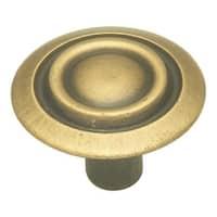 "Hickory Hardware P120 Cavalier 1-1/8"" Diameter Mushroom Cabinet Knob"