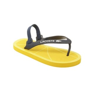 Lacoste Infant Nosara Strap FSM Sandals in Dark Blue/Yellow