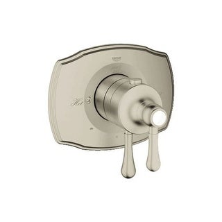 Grohe 19 825 GrohSafe 2000 Authentic Dual Function Thermostatic Shower Trim with Integrated Volume Control and 2-Way Diverter