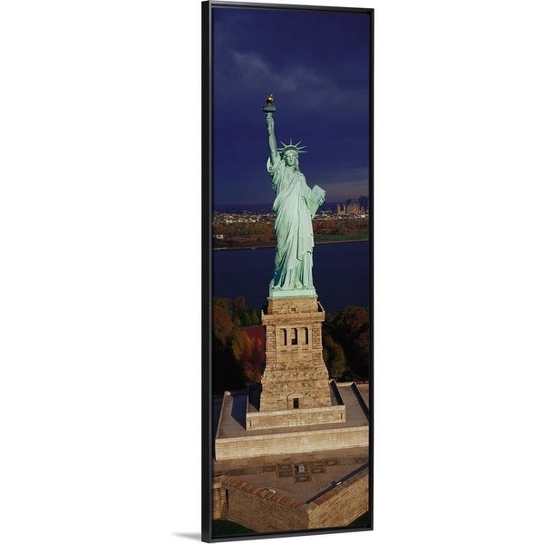 Shop Floating Frame Premium Canvas With Black Frame Entitled New