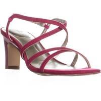 Bandolino Obexx Heeled Strappy Sandals, Dark Pink
