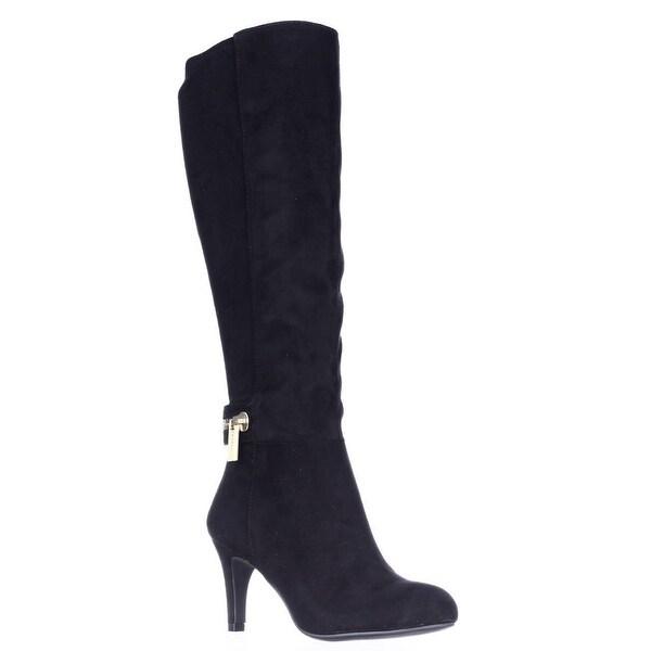BCBGeneration Rigbie Knee High Dress Boots, Black