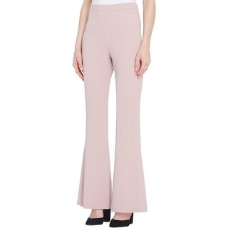 Tahari ASL Womens Dress Pants Crepe Wide Leg