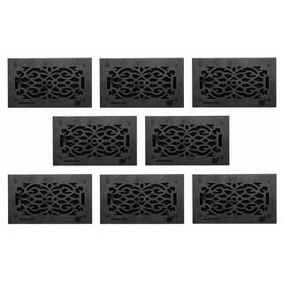 8 Floor Heat Register Louver Vent Victorian Cast 6 x 12 Duct Renovator's Supply
