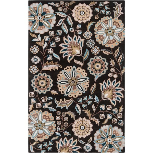 Lily Hand Tufted Transitional Floral Area Rug On Sale Overstock 9525211