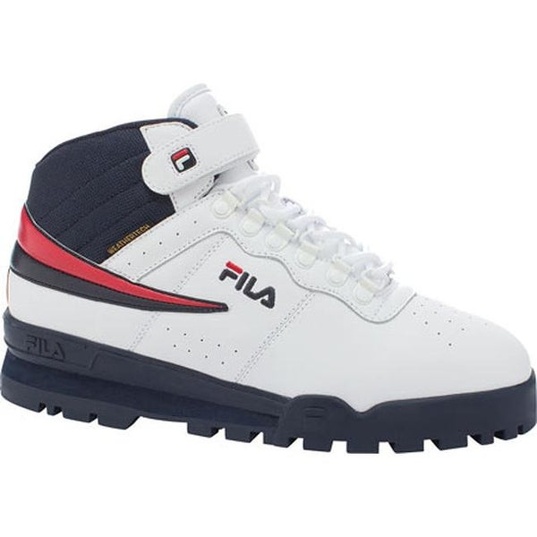 777ce2f068 Shop Fila Men's F-13 Weather Tech White/Fila Navy/Fila Red - On Sale - Free  Shipping Today - Overstock - 24107488