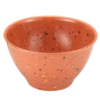 Rachael Ray 56602 Garbage Bowl with Rubber Foot - Orange