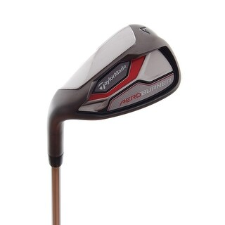 New TaylorMade AeroBurner Approach Wedge LEFT HANDED w/ FST Steel Shaft