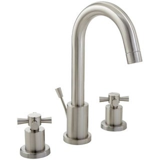 Mirabelle MIRWSML800 Milazzo Widespread Bathroom Faucet - Free Pop-Up Drain Assembly with purchase