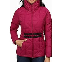 The North Face Pink Womens Size XS Belted Mera Quilted Jacket