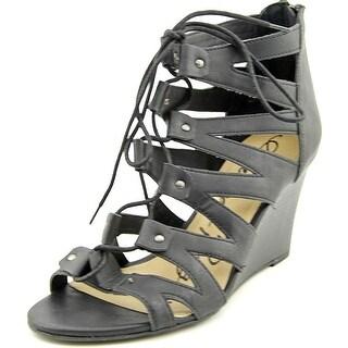 American Rag Carter Open Toe Synthetic Wedge Sandal