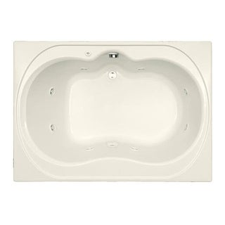 """Mirabelle MIRSAW6042 St. Augustine 60"""" X 42"""" Drop-In Whirlpool Tub with Reversible Drain"""