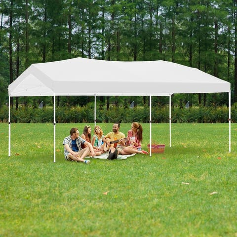 Ainfox Gazebo Tent Canopy Tent Pop-Up Canopy Folding Shelter for Wedding Party
