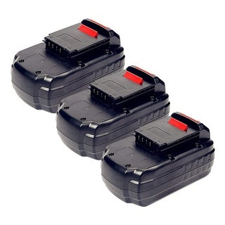 Replacement Battery For PC1800RS Power Tools - PC18B (3000mAh, 18V, NiCD) - 3 Pack