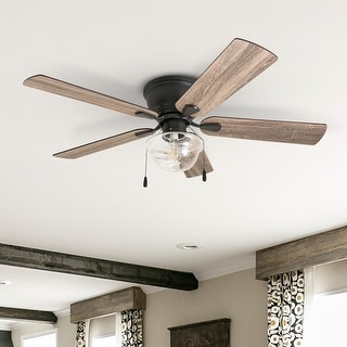 Link to The Gray Barn East Cowes 52-inch Coastal Indoor LED Ceiling Fan with Pull Chains 5 Reversible Blades - 52 Similar Items in Ceiling Fans