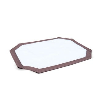 """K&H Pet Products Self-Warming Pet Cot Cover Large Brown 30"""" x 42"""" x 0.25"""""""