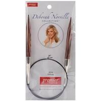 "Size 15/10Mm - Deborah Norville Fixed Circular Knitting Needles 24"""