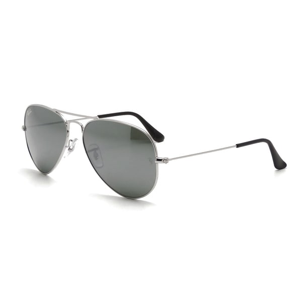 Ray-Ban RB3025 W3275 Aviator Sunglasses 55MM - Silver
