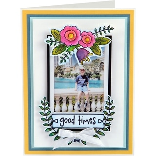 Sizzix Clear Stamps-Memories