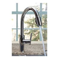 Newport Brass 1500-5103 East Linear Pull-Down Spray Kitchen Faucet with Magnetic Docking System